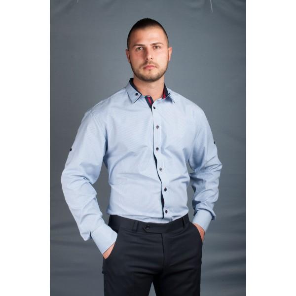 Tommy Мъжка риза с дълъг ръкав