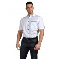 Casta Мъжка риза с къс ръкав