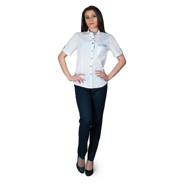 Casta Дамска риза с къс ръкав