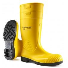 DUNLOP ACIFORT HEAVY DUTY S5 SRA yellow